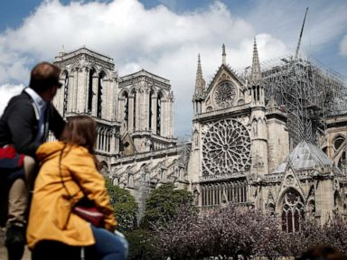 French prime minister announces competition to rebuild Notre Dame Cathedral's spire