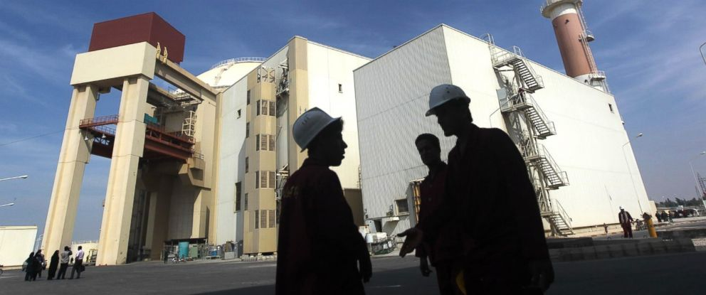 PHOTO: The reactor building at the Russian-built Bushehr nuclear power plant in southern Iran, Oct. 26, 2010.