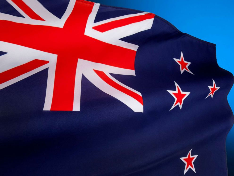 PHOTO:A New Zealand flag is seen here in this stock photo.
