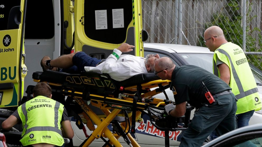 Image result for 40 people killed in New Zealand terrorist attack