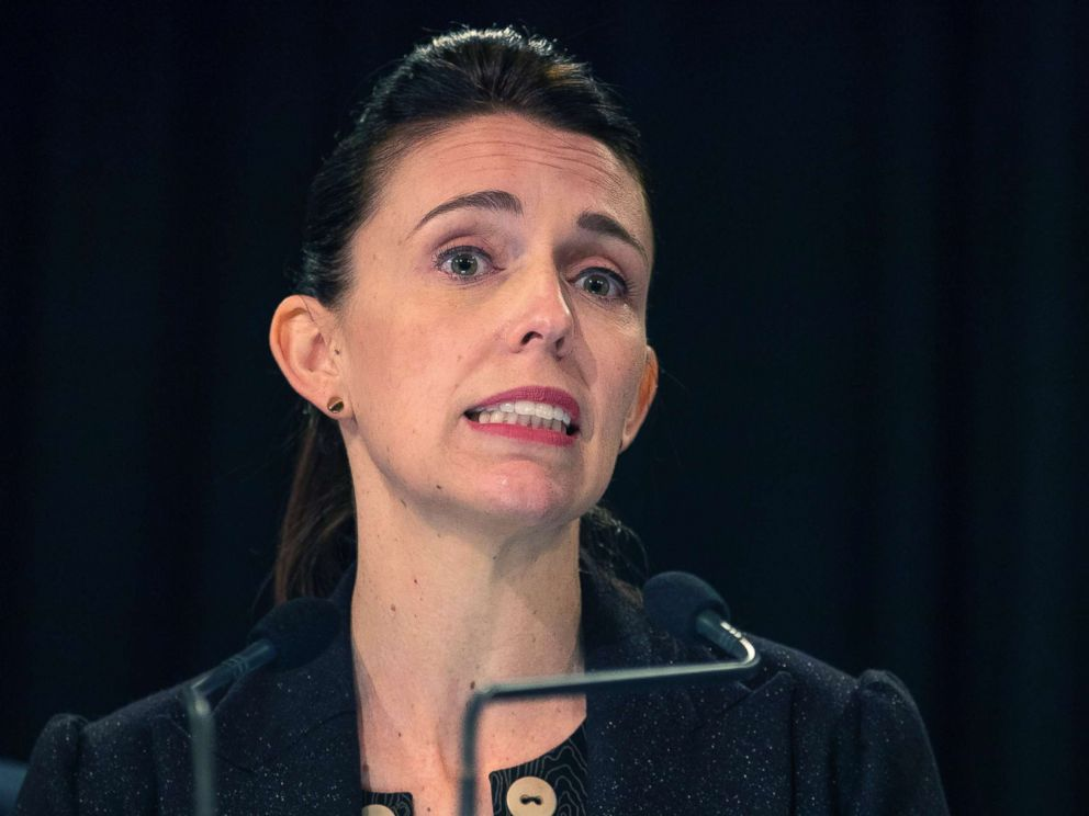 PHOTO: New Zealand Prime Minister Jacinda Ardern speaks at a press conference about murdered British tourist Grace Millane during her weekly post-Cabinet press conference in Wellington, New Zealand, Dec. 10, 2018.