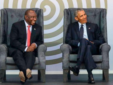 Obama: Despite 'strange and uncertain' times, Mandela's legacy endures