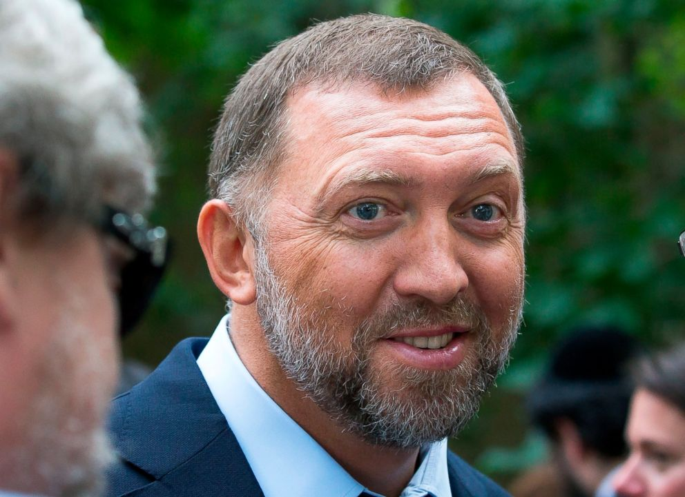 Russian metals magnate Oleg Deripaska attends Independence Day celebrations at Spaso House, the residence of the American Ambassador, in Moscow, July 2, 2015.