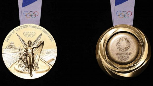 2020 Olympic medals to be made entirely from recycled materials