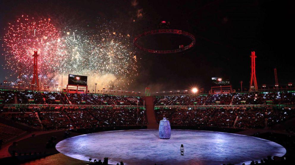 2020 Winter Olympics Opening Ceremony.2018 Winter Olympics Opening Ceremonies Underway In South Korea
