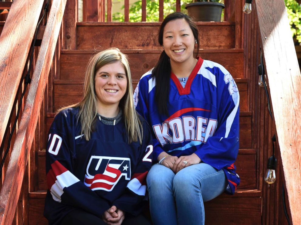 PHOTO: Hannah Brandt, left, and Marissa Brandt, pose at their familys home in Vadnais Heights, Minn., in this May 11, 2017 file photo.