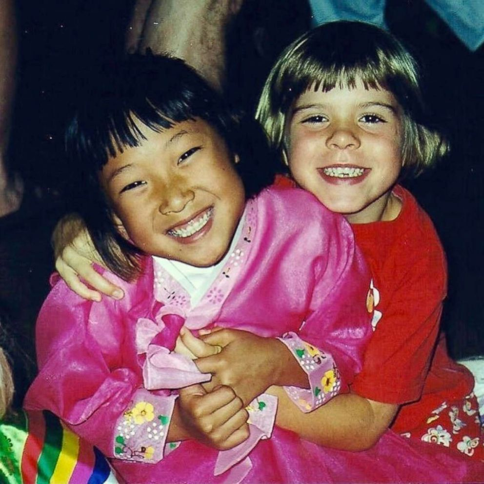 PHOTO: Hannah Brandt, right, and her sister Marissa are pictured together in this undated family photo in St. Paul, Minn.