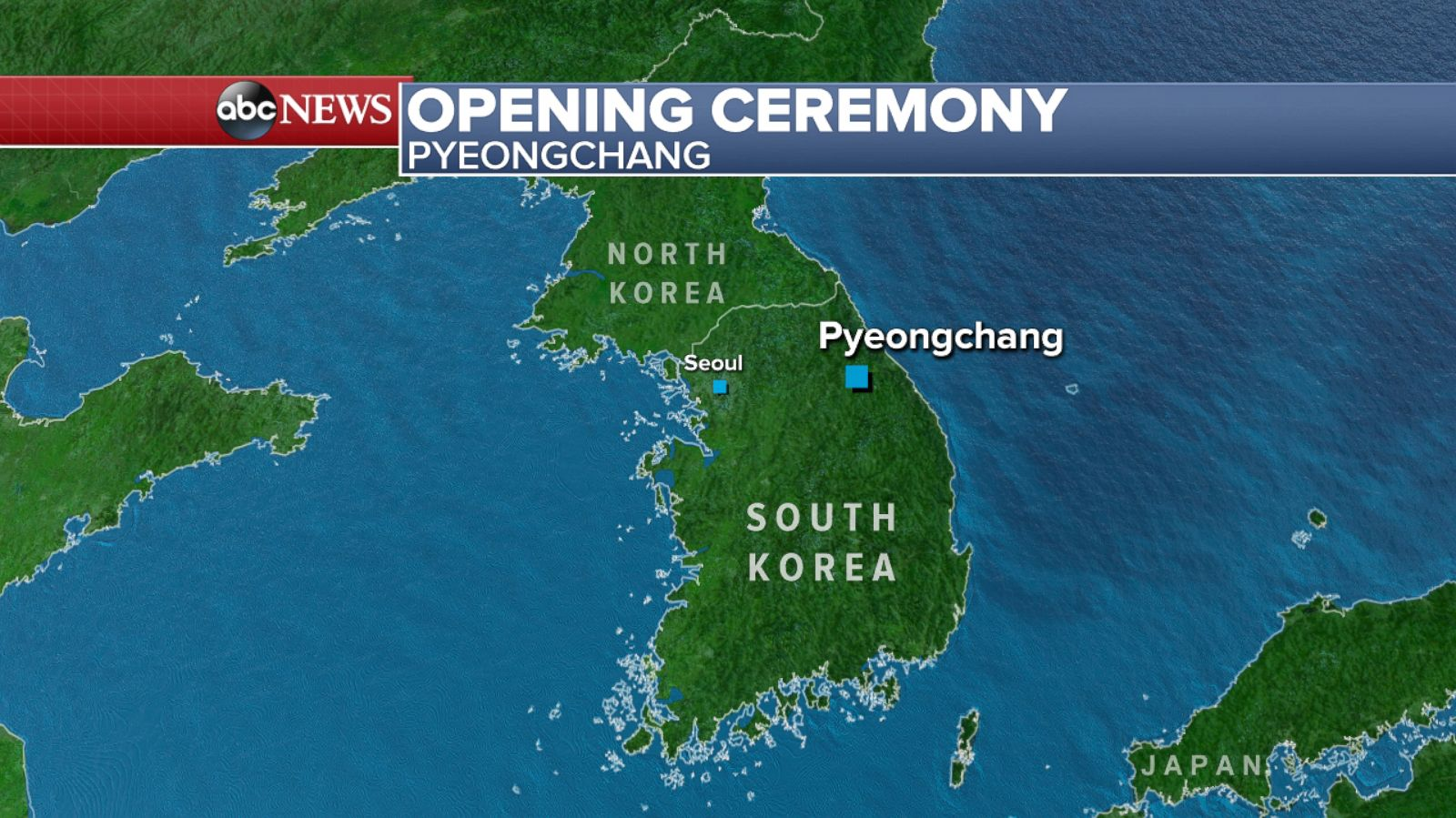 Chilly temps expected for Olympics opening ceremony in Pyeongchang on