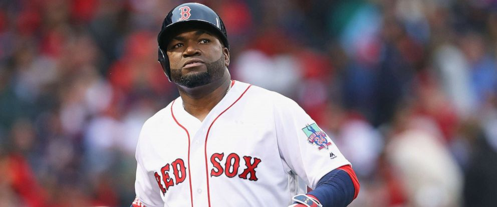 PHOTO: David Ortiz #34 of the Boston Red Sox during the second inning against the Toronto Blue Jays at Fenway Park, Oct. 2, 2016, in Boston.