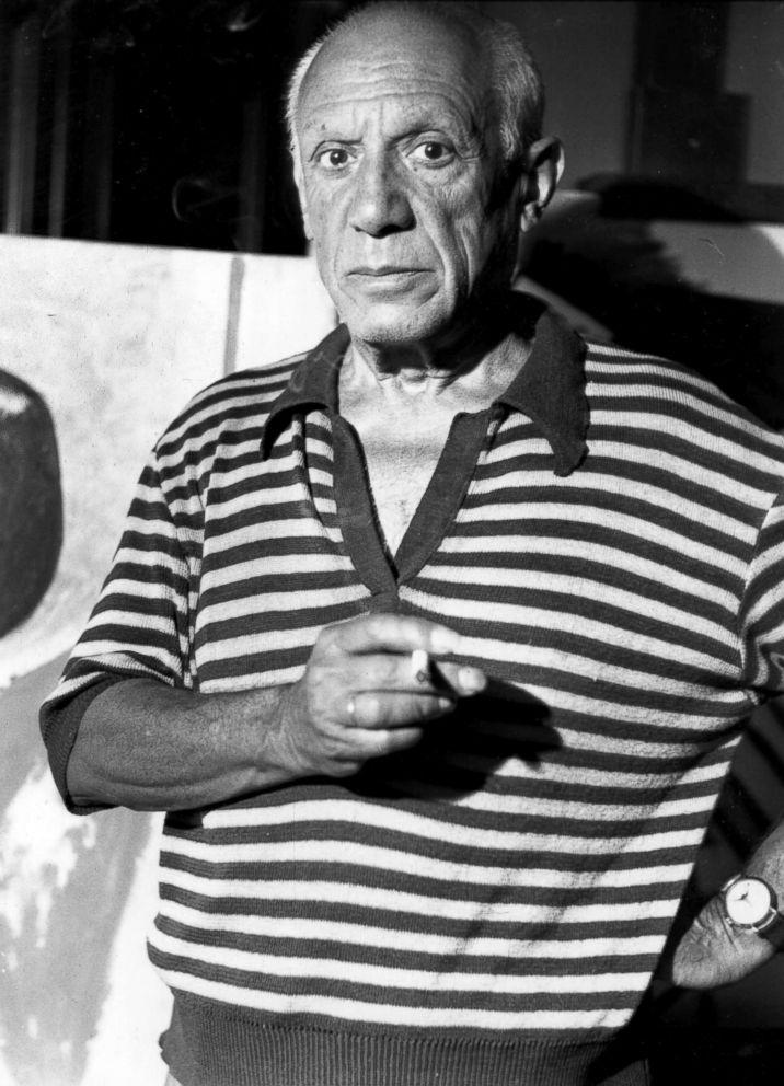 PHOTO: Spanish painter Pablo Picasso, circa 1955.