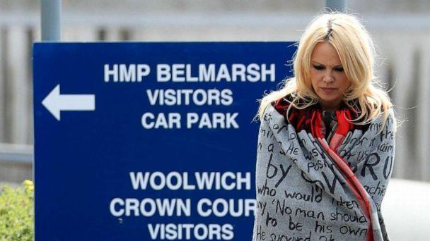 Pamela Anderson defends Julian Assange as 'world's most innocent man'