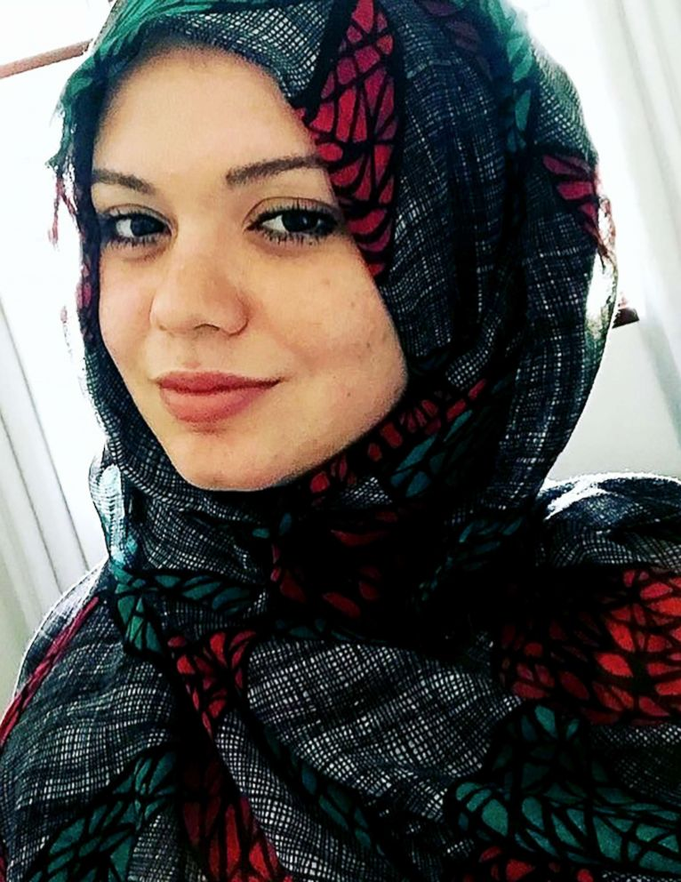 PHOTO: Zafred, a 19-year-old from Brazil, took part in the 30-Day Hijab challenge this year.