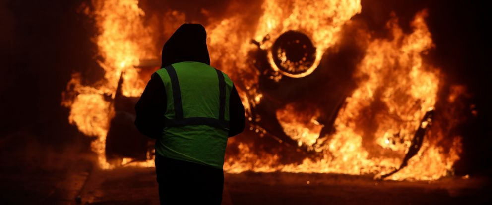 Image result for paris riots
