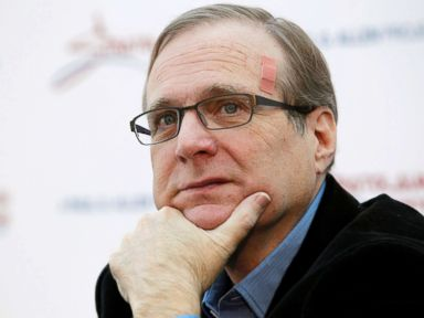 PHOTO: Microsoft co-founder Paul Allen pauses at a news conference in Seattle, Dec. 13, 2011.