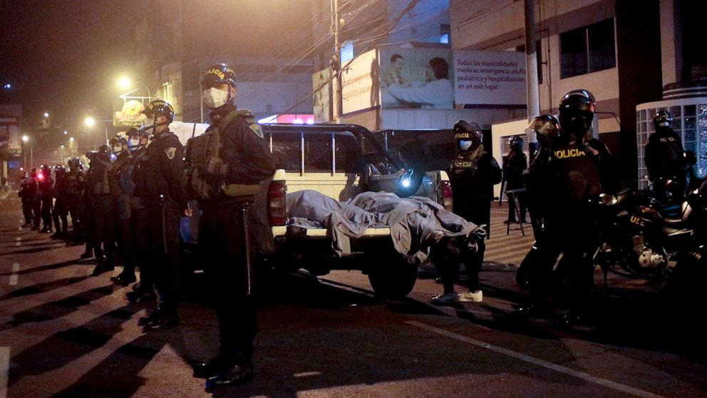 13 killed during stampede at illegal nightclub party in Peru, officials say thumbnail