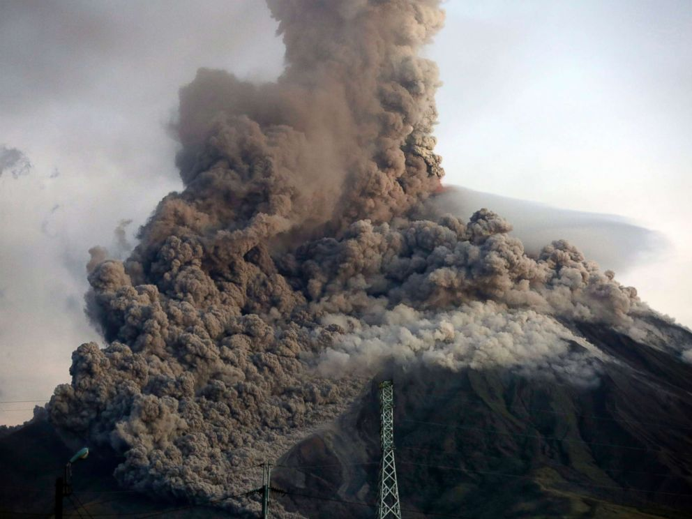 Erupting Volcano In Philippines Forces Evacuation Of Thousands Of