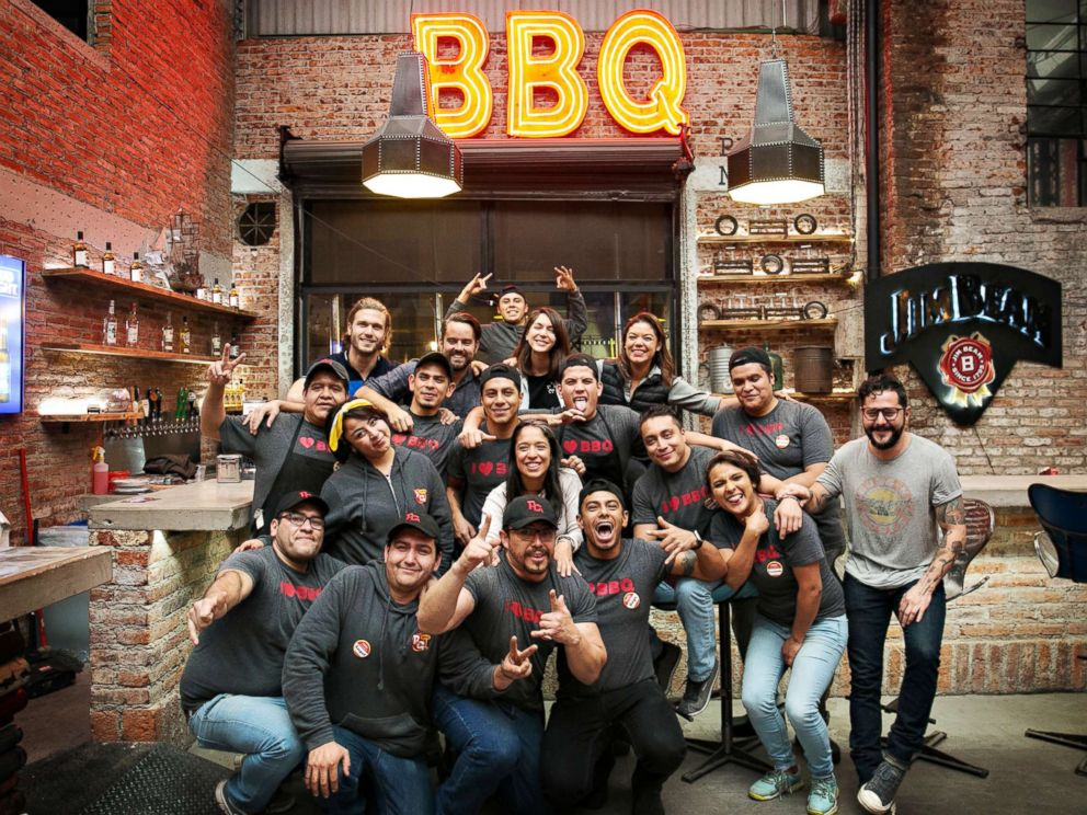 PHOTO: Pinche Gringo, a restaurant in Mexico City, is using barbecue diplomacy to bring the U.S. and Mexico closer together.