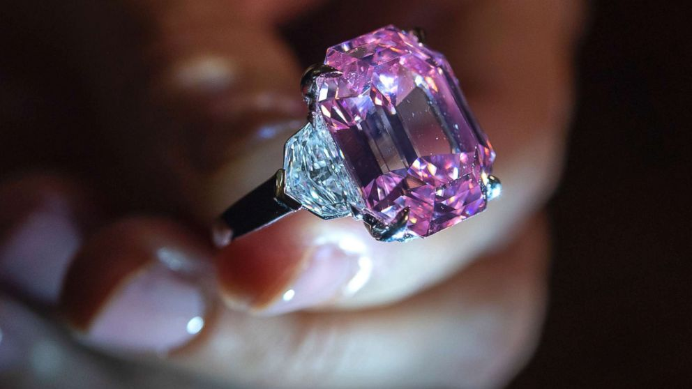 The Rare Pink Diamond Was Purchased And Renamed The Winston Pink Legacy
