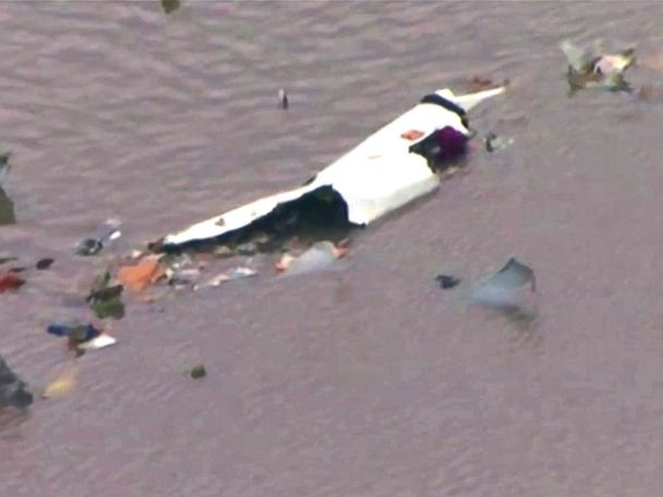 Cargo jet crashes into bay near Houston, Texas, officials say