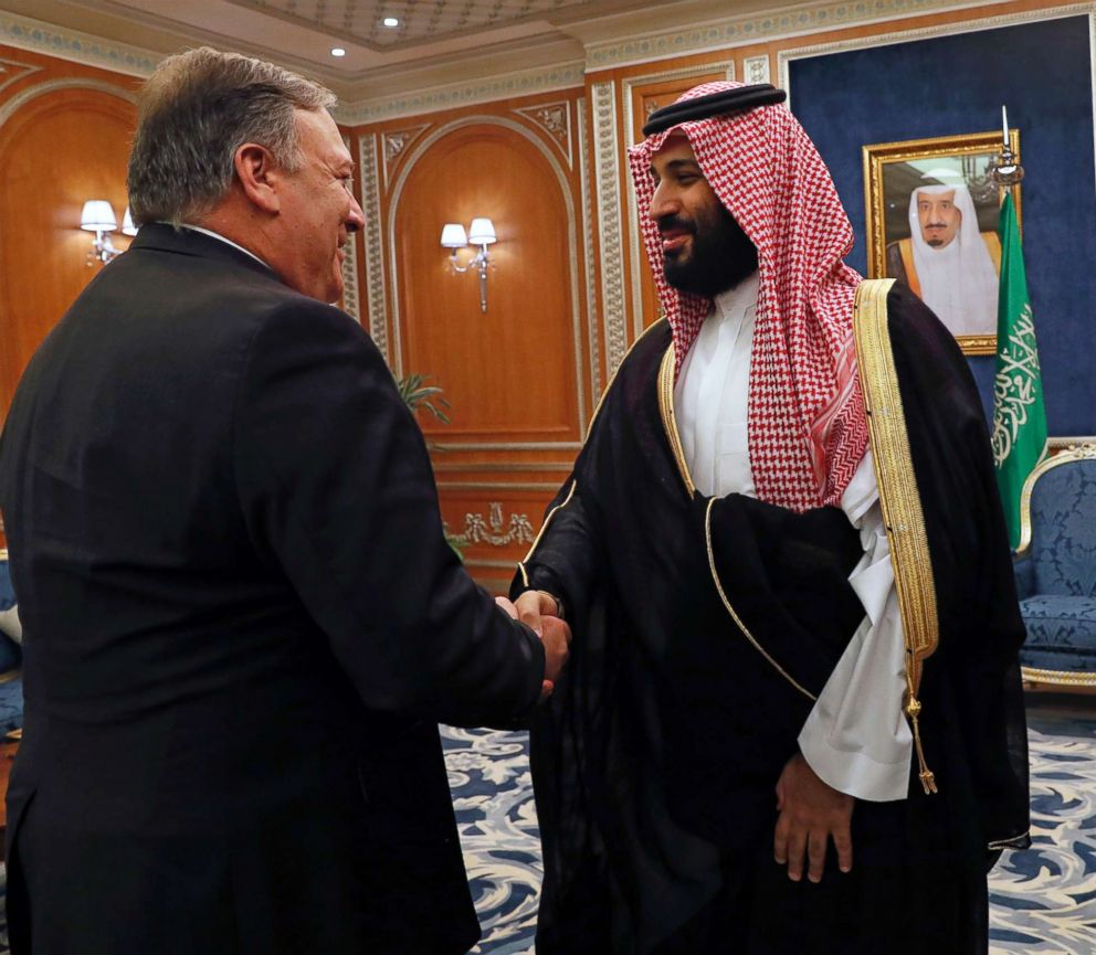 U.S. targets 17 Saudis with sanctions over Khashoggi's murder