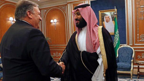 Pompeo casts doubt on Saudi prince's role in Khashoggi murder as CIA Director briefs House, Senate prepares to vote