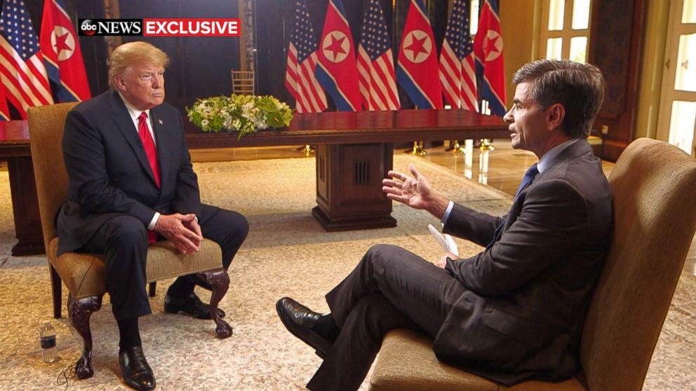 President Trump sits down with George Stephanopoulos: TRANSCRIPT