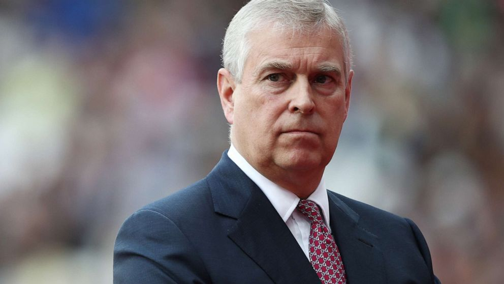 Prince Andrew says he has 'no recollection of ever meeting' Epstein accuser Giuffre