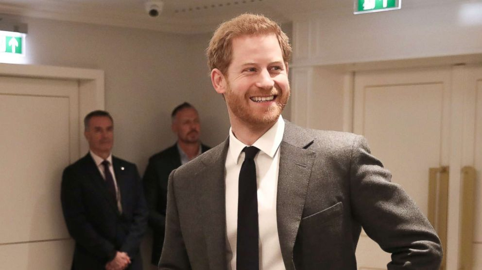Prince Harry during the 'Walk Of America' launch at Mandarin Oriental Hyde Park on April 11, 2018, in London, England.