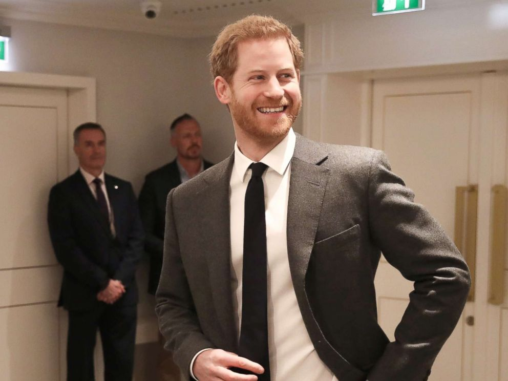 PHOTO: Prince Harry during the Walk Of America launch at Mandarin Oriental Hyde Park on April 11, 2018, in London, England.