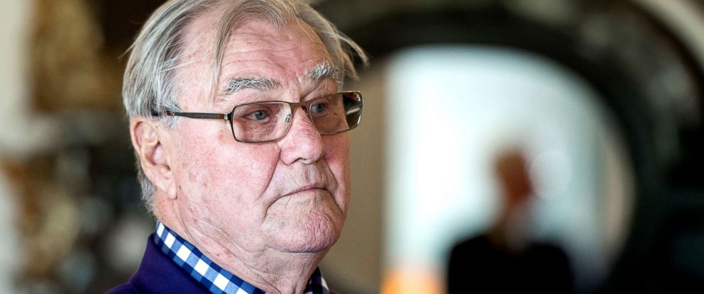 PHOTO: Danish Prince Consort Henrik is seen here in this 2014 file photo.
