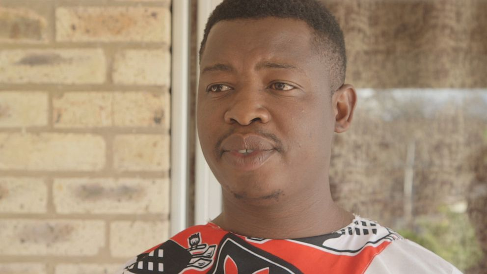 PHOTO: Khanyiso Mtoto is a prince in his village, a man of elevated status and influence. He says that biologically and physically, men are stronger than women.