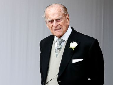 Prince Philip was in a road traffic accident but was not injured Buckingham Palace