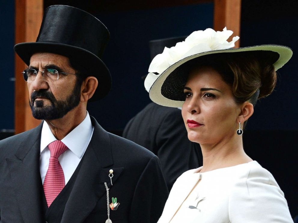 PHOTO: Sheikh Mohammed bin Rashid Al Maktoum, left, and Princess Haya bint Al Hussein attend an event in London, June 4, 2016.
