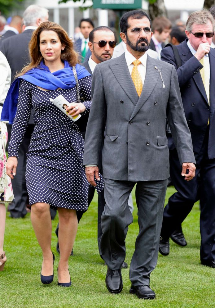 Dubai's Princess Haya applies for order in London to protect
