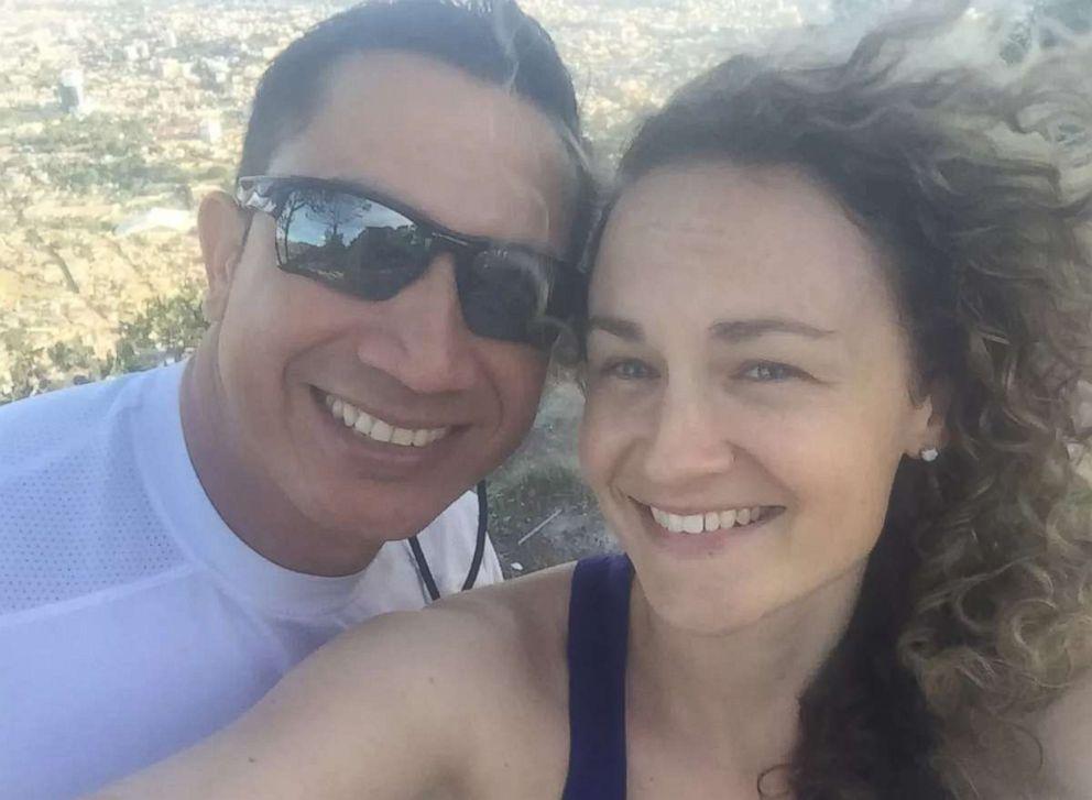 PHOTO: Political prisoner Edwin Espinal married human rights activist Karen Spring in a prison in Honduras, Oct. 18, 2018.