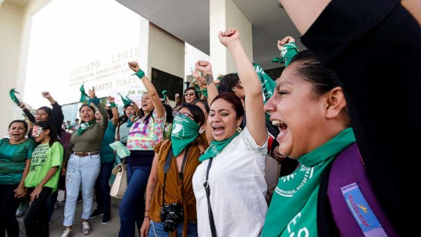 Mexico's Oaxaca state decriminalizes abortion