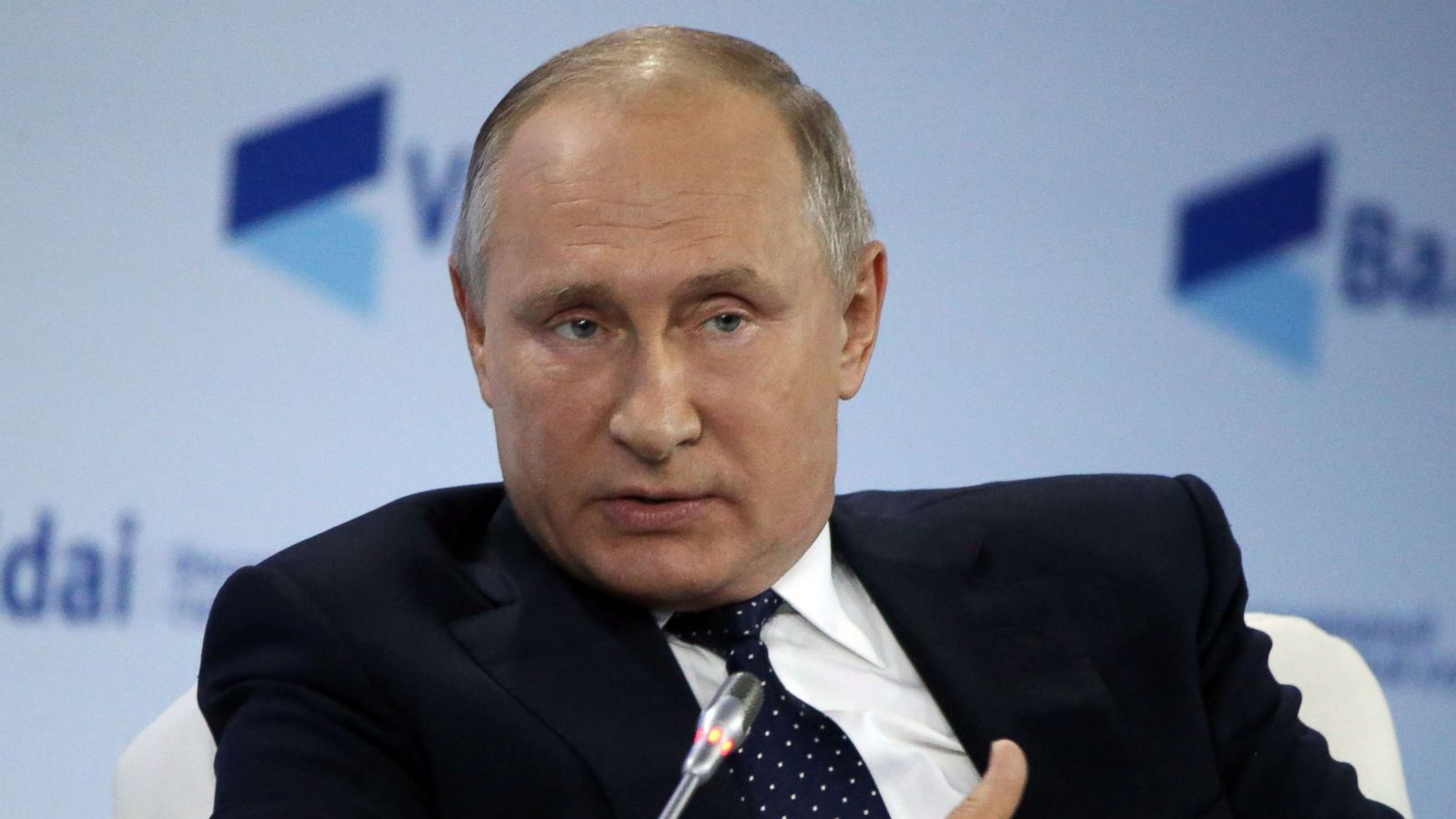 One dollar President Vladimir Putin