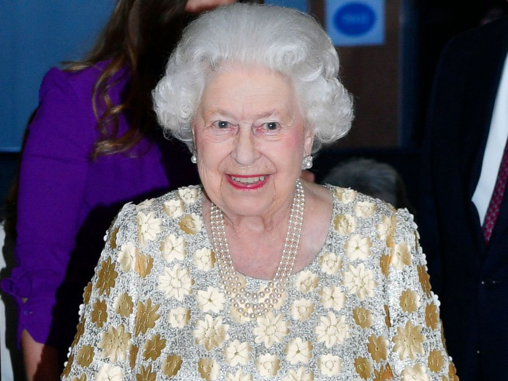 PHOTO: Britains Queen Elizabeth II arrives at the Royal Albert Hall in London to attend a concert to celebrate her 92nd birthday, April 21, 2018.