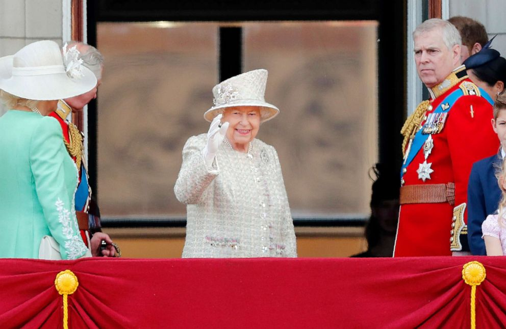 Meghan Markle celebrates Queen Elizabeth II's birthday in first public outing since baby Archie's arrival