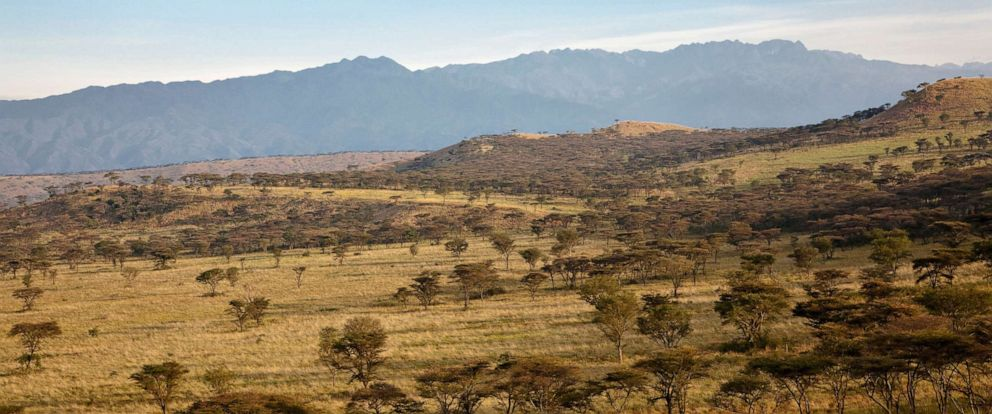 PHOTO: The Crater Area in Queen Elizabeth National Park with view of the Rwenzori Mountains in Uganda, East Africa in this Sept. 18, 2016.file photo.