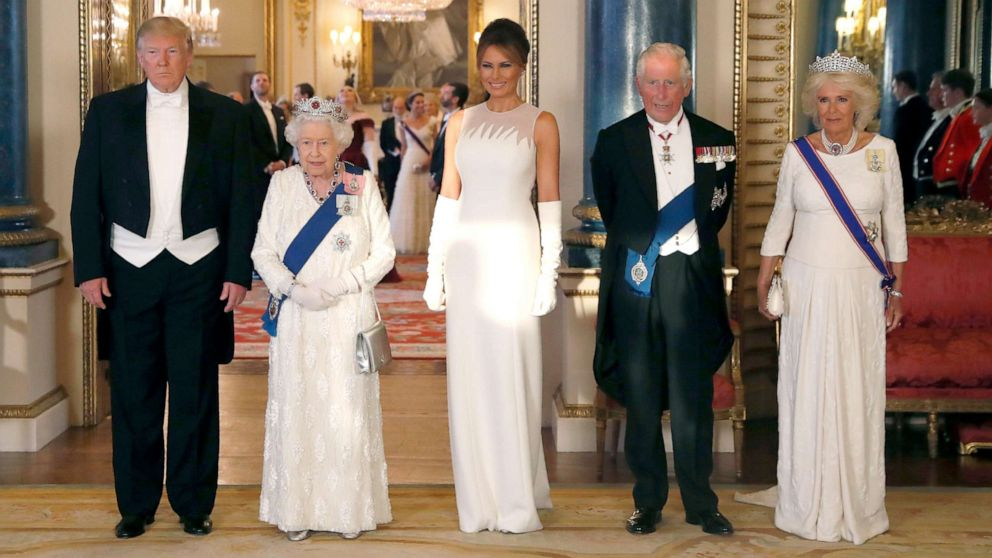 Trump gets the royal treatment with state visit to the United Kingdom - ABC  News