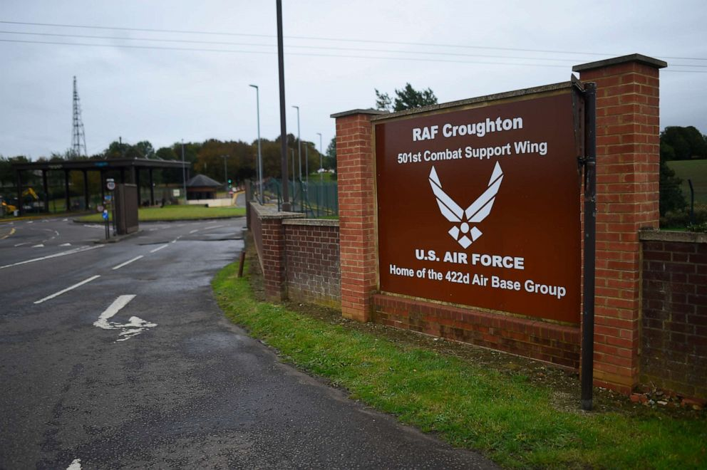 PHOTO: A general view of RAF Croughton near Brackley, England, Oct. 7, 2019.