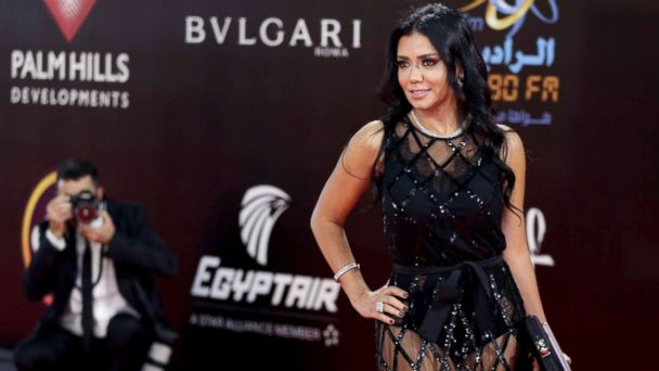 Egyptian actress investigated over red carpet dress, could face 5 years in prison