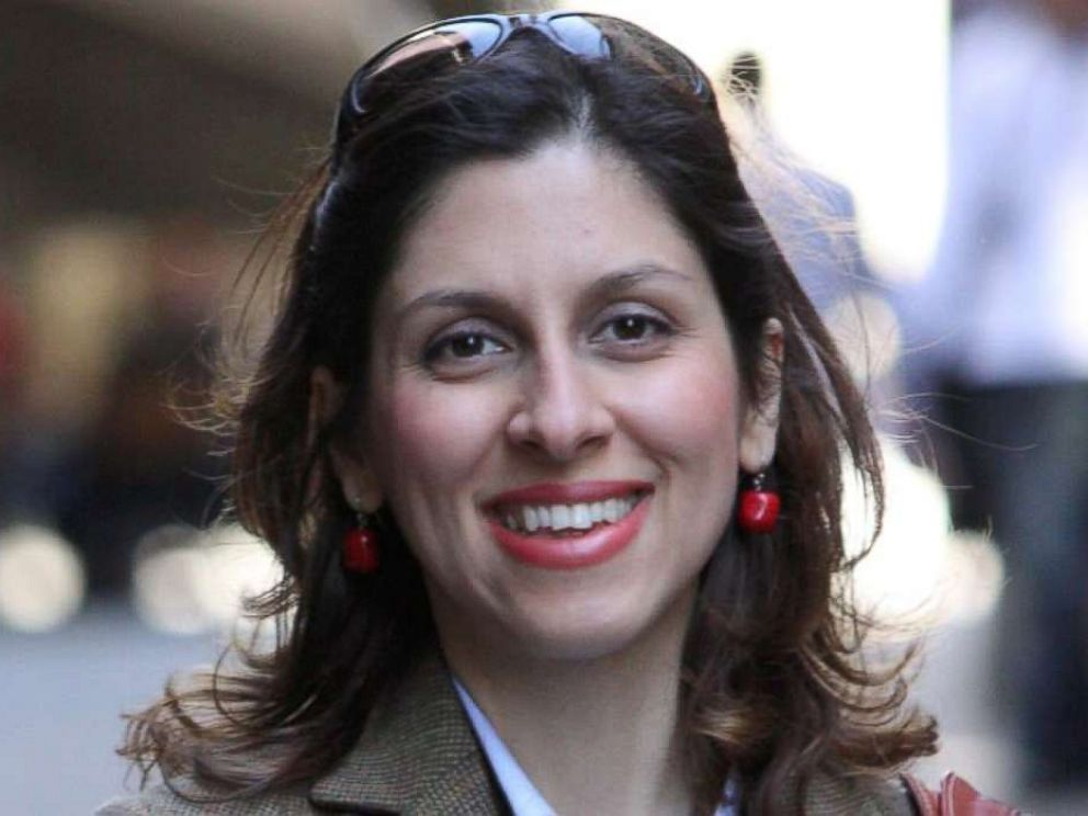 PHOTO: Iranian-British aid worker Nazanin Zaghari-Ratcliffe is seen in an undated photograph handed out by her family.