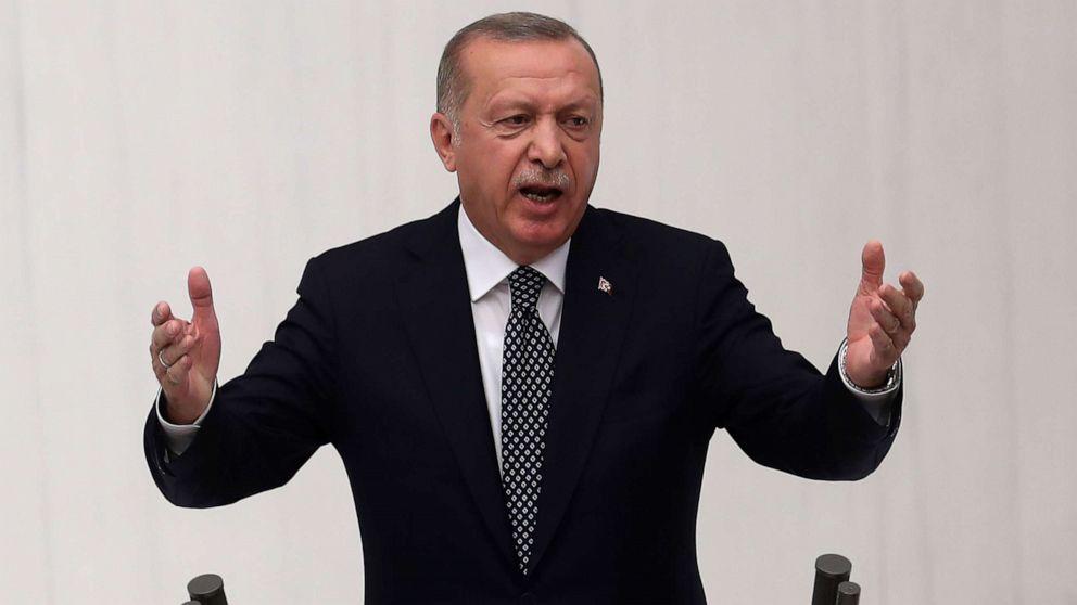 In der Türkei setzen, zu überfallen, Syrien; UNS zu entfernen, Kräfte aus dem Bereich