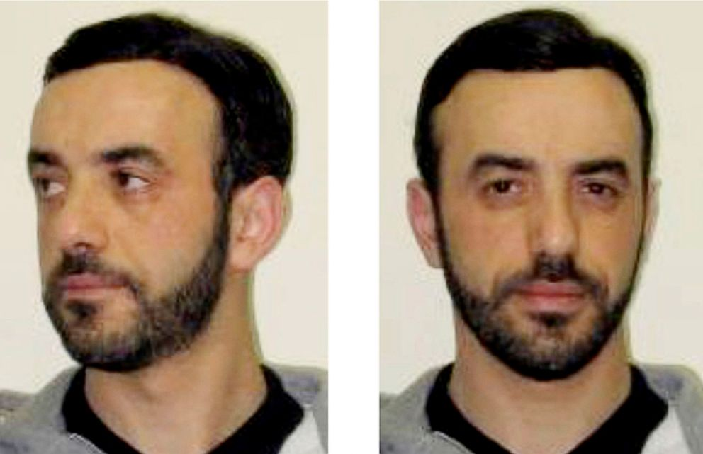 PHOTO: The July 9, 2018 screenshot of the Interpol website shows pictures of notorious French criminal, Redoine Faid, as part of Interpols wanted notice.