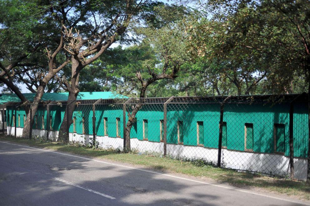 PHOTO: View of shelter building constructed at a Rohingya repatriation center in Keruntoli, Bangladesh, Nov. 12, 2018.