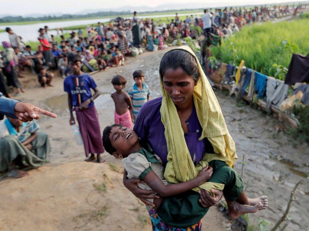 Half A Million Rohingya Refugee Children In Desperate Need