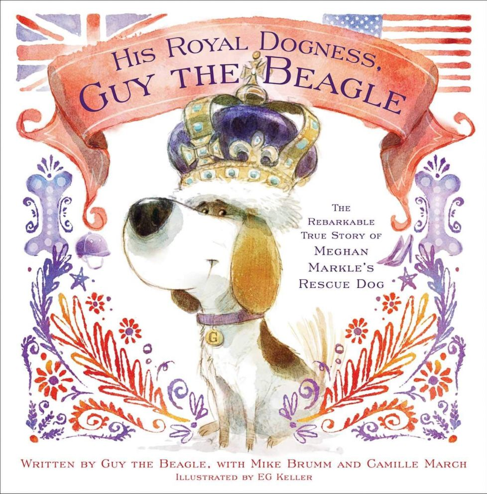 PHOTO: His Royal Dogness, Guy the Beagle: The Rebarkable True Story of Meghan Markles Rescue Dog.