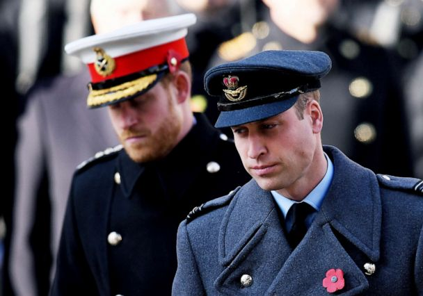 william harry kate and meghan join the queen for remembrance sunday ceremonies gma william harry kate and meghan join